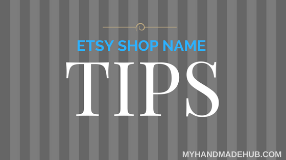 etsy shop name tips